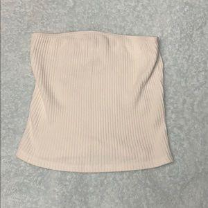 Brandy Melville white tube top